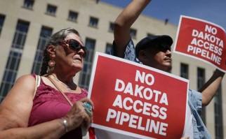 Experta de la ONU pide a EE.UU. suspender el oleoducto Dakota Access. Foto: Lakana