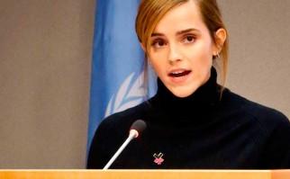 Emma Watson denuncia la desigualdad de género en las universidades.
