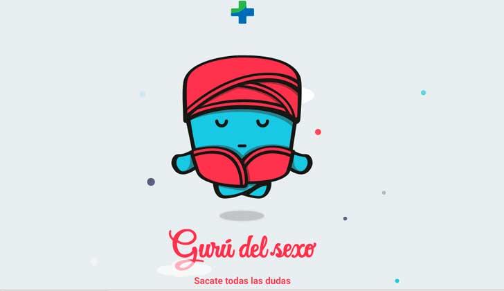 'Gurú del sexo', la aplicación móvil del Ministerio de Salud pública sobre educación sexual.