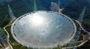 Estrenan el mayor radiotelescopio del mundo para localizar vida extraterrestre