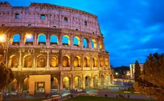 Coliseo Romano, uno de las insignias de la ciudad. Foto: Moyan Brenn.