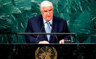 """Siria ante la ONU: """"EE.UU. y sus aliados son cómplices del EI y de otras organizaciones terroristas"""". Foto: ONU"""