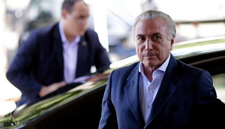 "Michel Temer anunció un megaplan de privatizaciones para ""hacer crecer a Brasil"". Foto: AFP"