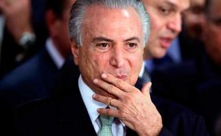 Brasil: autorizan investigar a Temer por corrupción. Foto:  @REUTERS/ Ueslei Marcelino.