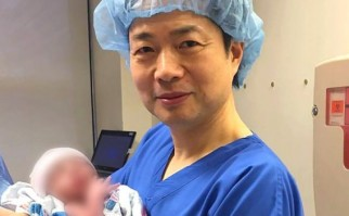 El doctor Zhang fue el responsable del procedimiento. Foto: New Hope Fertility Centre.