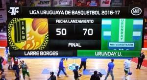 Urunday le ganó 70 – 50 a Larre Borges