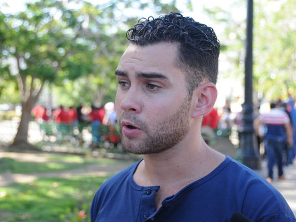 Elián González ahora tiene 23 años y es un participante activo de la política. Foto: 5septiembre.cu.