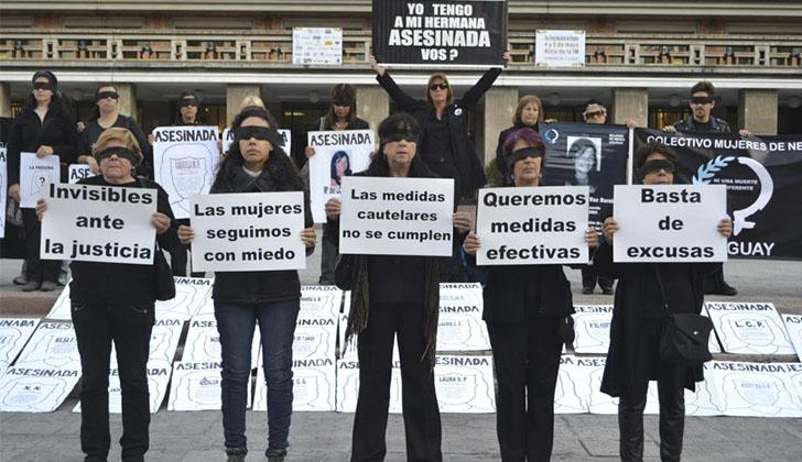 Resultado de imagen para uruguay violencia contra la mujer