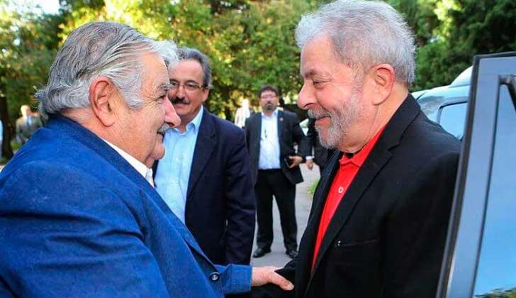 Mujica participará junto a Lula de una marcha en Brasil contra las políticas de Temer. Foto: Instituto Lula