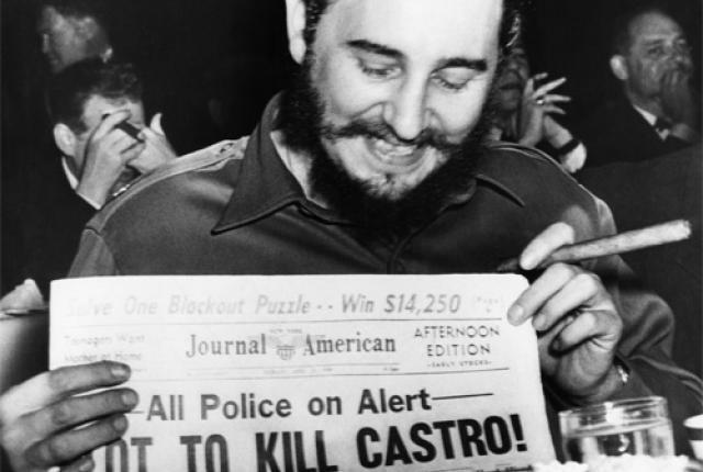 Las diez formas más curiosas con las que CIA intentó matar a Fidel Castro