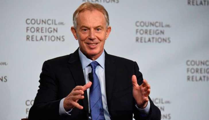 Foto de archivo: Facebook Tony Blair
