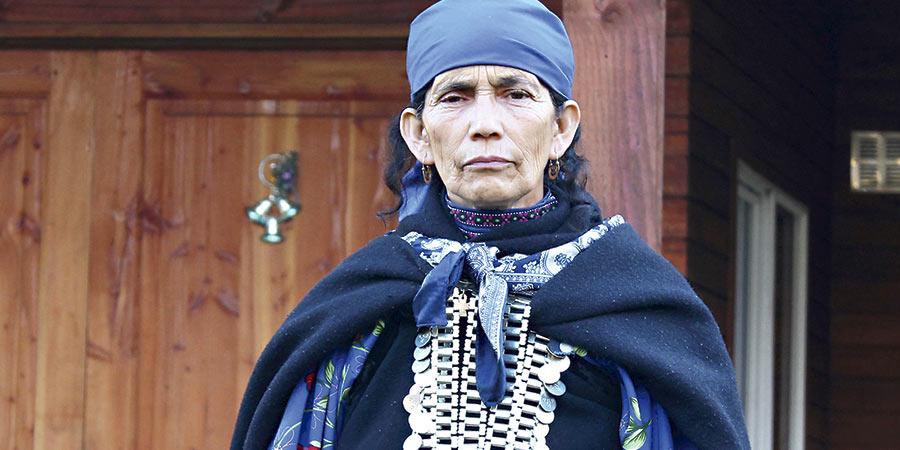 Francisca Linconao. Foto cortesía de latercera.com.