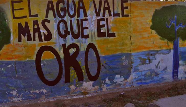 Más de 30 ambientalistas detenidos por protestas contra la Barrick Gold en San Juan. Foto: Facebook Asamblea Jáchal No Se Toca