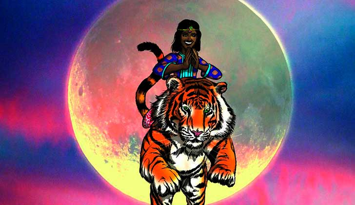 Priya, la primera superheroína que lucha contra la violencia de género en India.