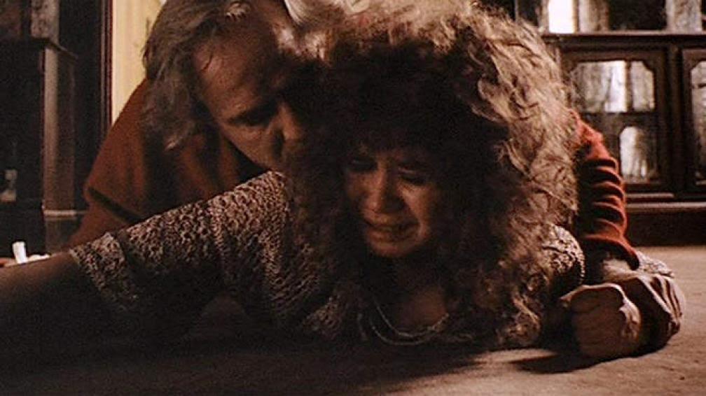 """Escena """"de la mantequilla"""" de la película """"El último tango en París"""", filme de Bernardo Bertolucci."""