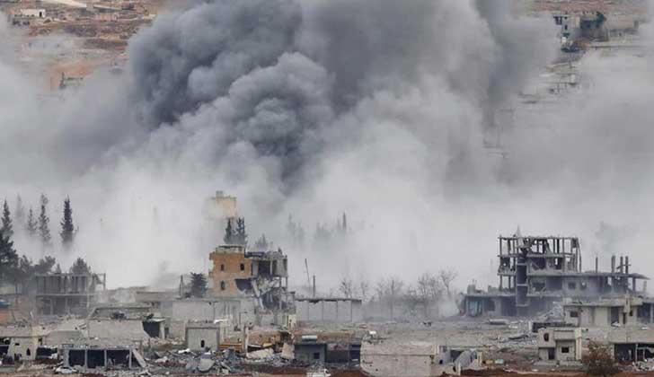 En el último año de Obama como presidente EE.UU. lanzó más de 26.000 bombas .