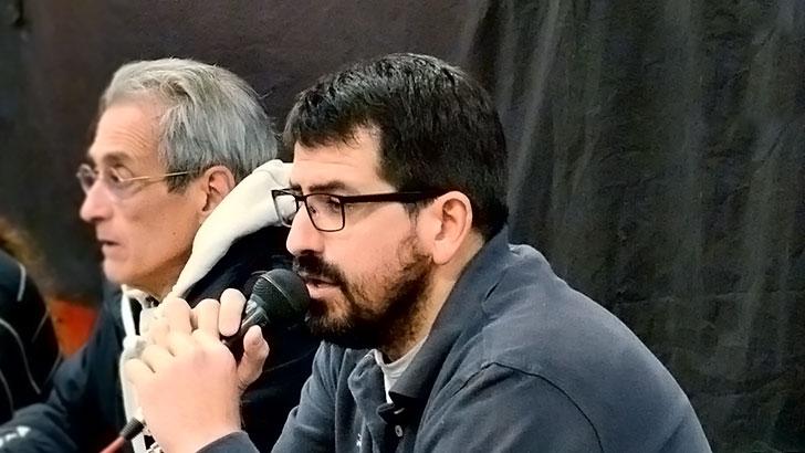 Emiliano Mandacen, Líder de ADES Montevideo / Foto: En Perspectiva