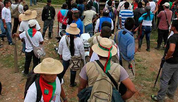 Colombia: asesinan a otro dirigente indígena. Foto: archivo El Tiempo