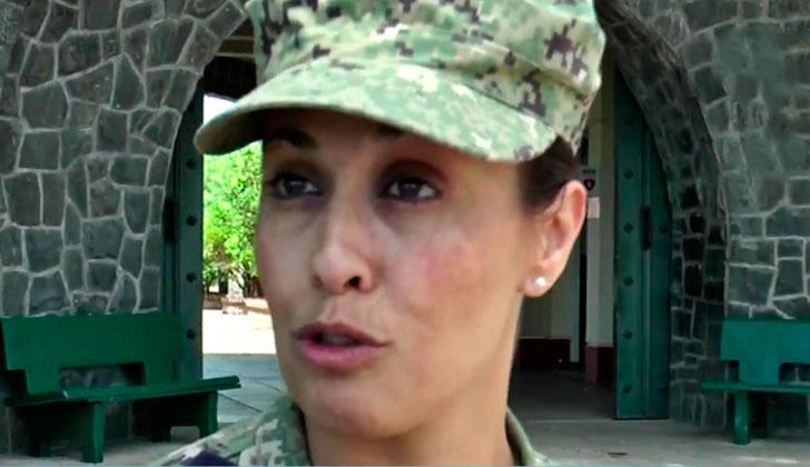 Lorena Cardoso en entrevista con Teledoce