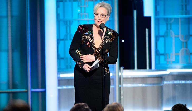 Robert De Niro sobre discurso de Meryl Streep: