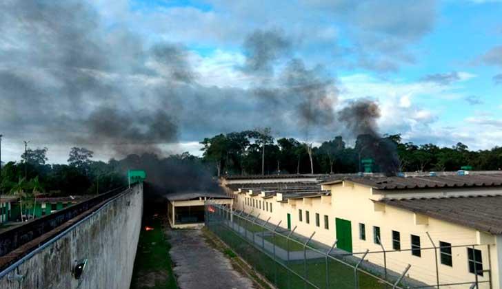 Motín en una cárcel de Brasil deja al menos 60 muertos. Foto: Twitter