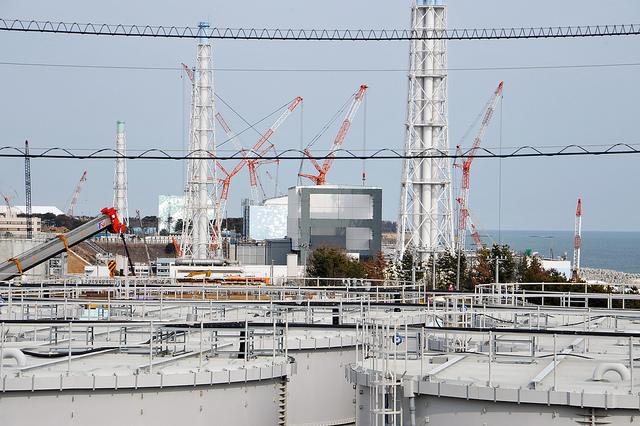 Planta nuclear de Fukushima. Foto:  Susanna Loof / IAEA