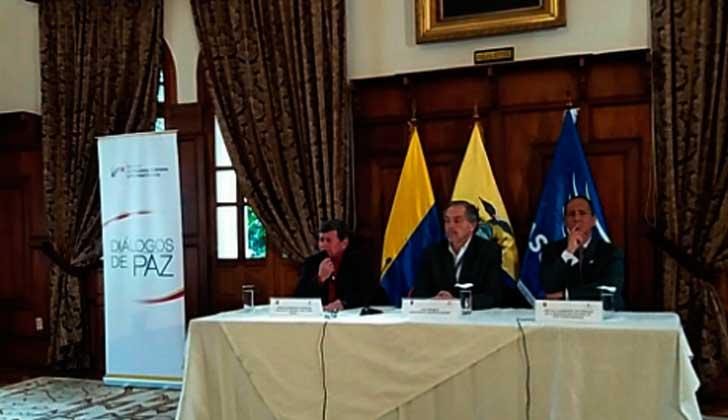 Gobierno de Colombia y el ELN anunciaron un primer acuerdo de paz. Foto:  @ELN_Paz