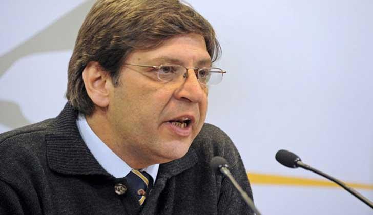 """Javier Miranda: """"Decir que el Frente Amplio propone la no devolución del Fonasa es mentira"""". Foto: Presidencia"""