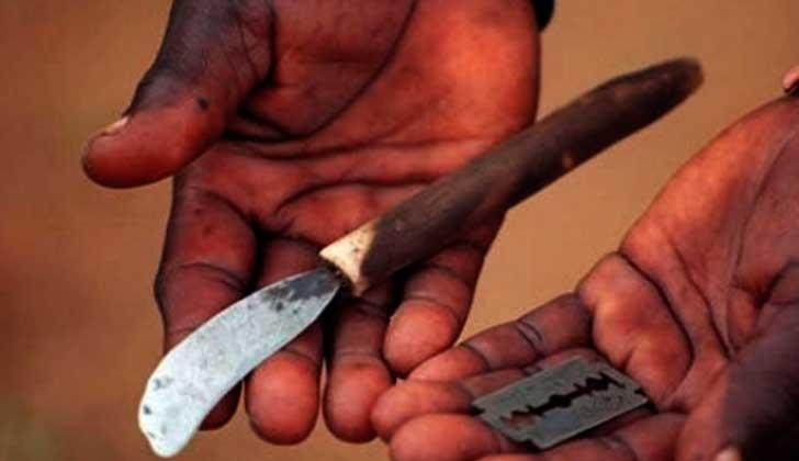 Tolerancia cero con la mutilación genital femenina. Foto archivo EFe