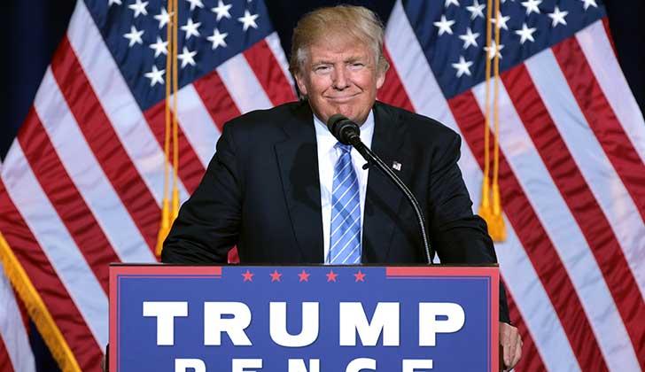 """Donald Trump: """"Sinceramente, heredé un desastre: aquí y en el extranjero"""". Foto: Wikicommons"""