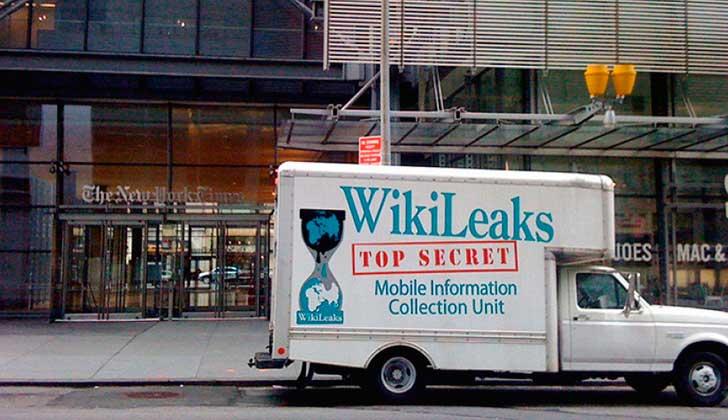 WikiLeaks: la CIA espió a Hollande, Le Pen y Sarkozy en las elecciones de 2012. Foto: wikileaks.org