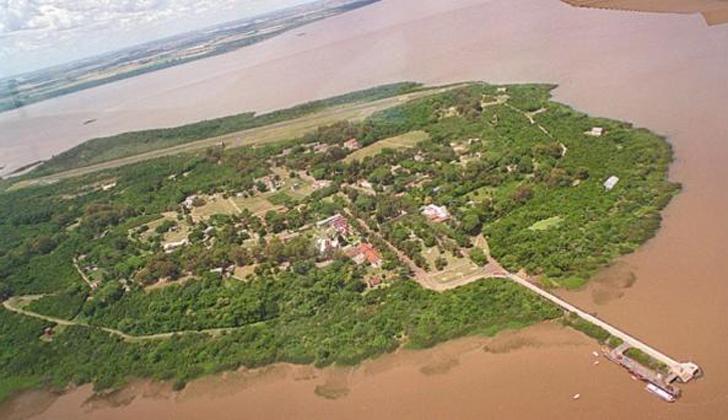 Resultado de imagen para Isla Martín Garcia. Dragado