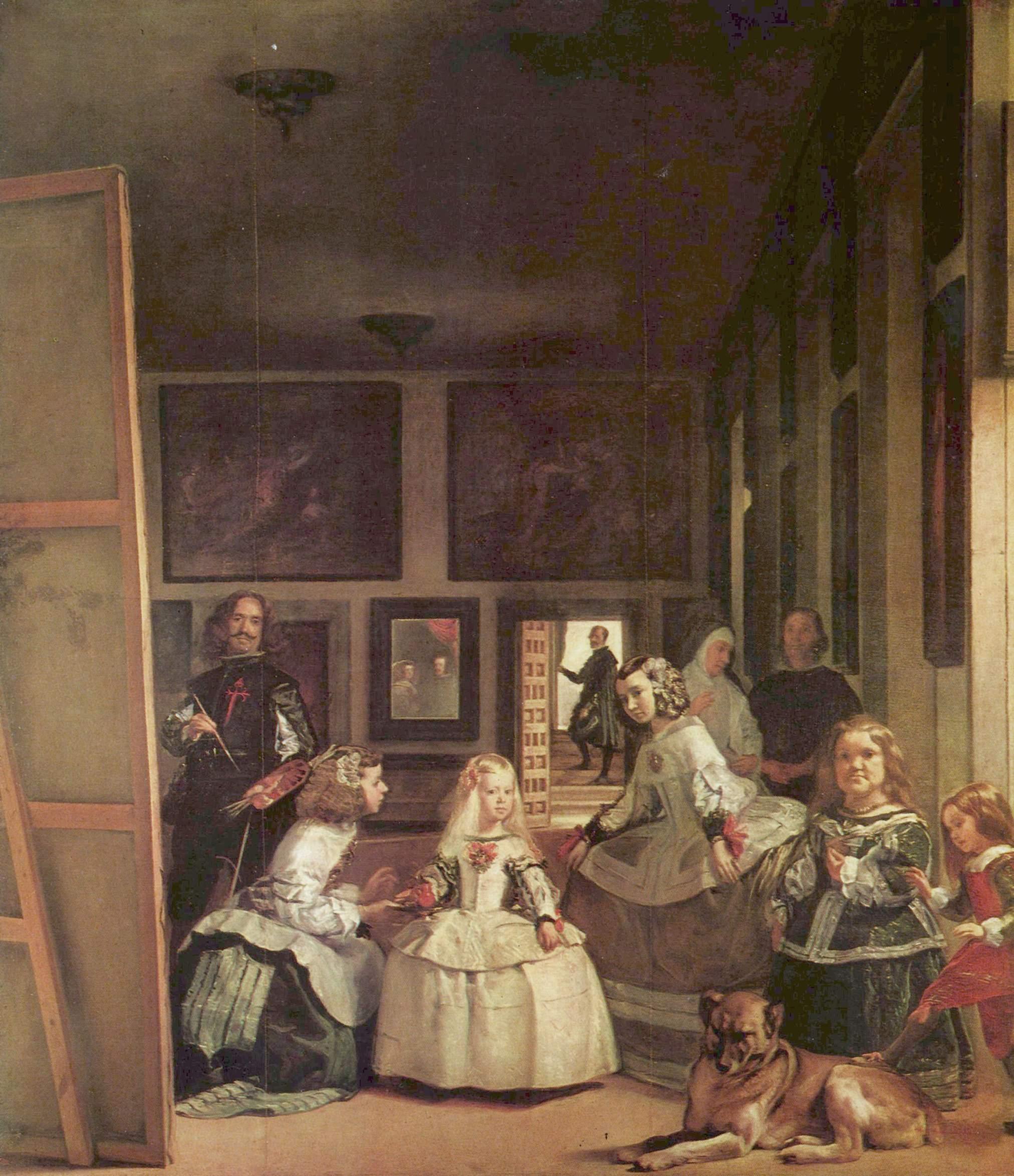 Las Meninas de Velázquez.