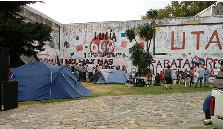 Campamento UTAA. Foto: PIT-CNT.