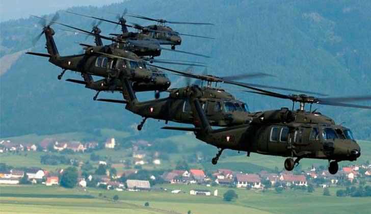 """Argentina encargó armamento militar a EE.UU. para """"combatir el terrorismo""""."""