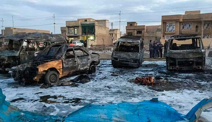 Irak: 26 muertos en doble ataque suicida en una boda