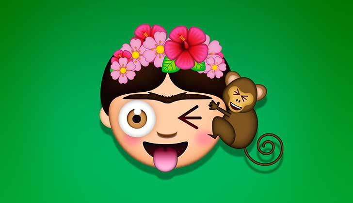 Llegan los Curiosos Emojis de Frida Kahlo