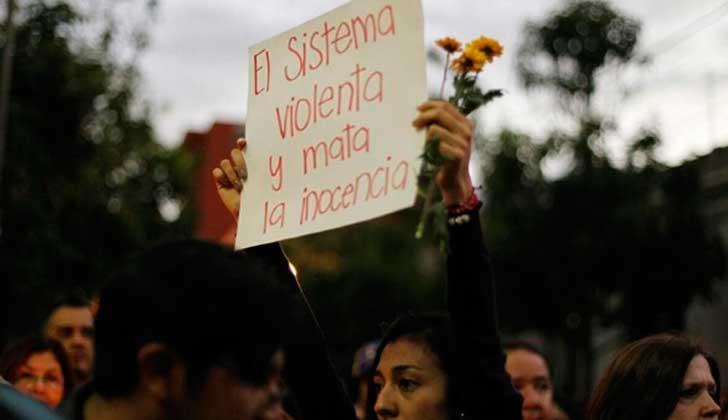 Movimientos sociales de América Latina exigen justicia por el incendio en el hogar del Estado en Guatemala. Foto: @alerprensa
