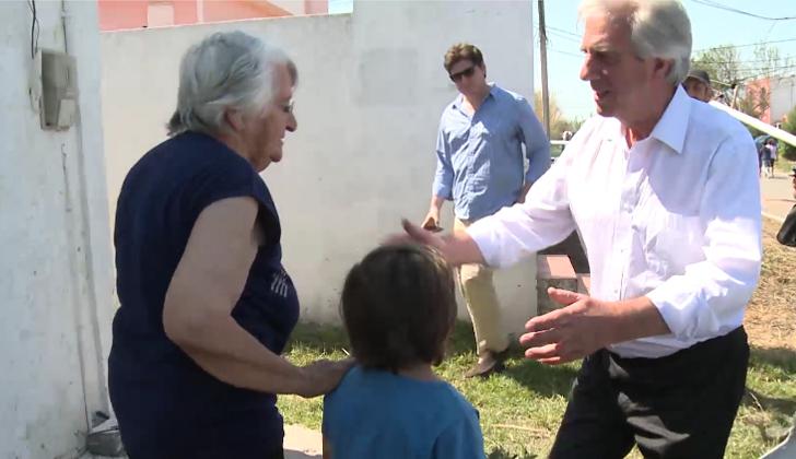 Tabaré Vázquez visitará Dolores para conocer los avances en la reconstrucción