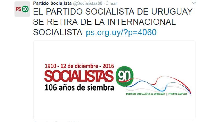 tweet socialista