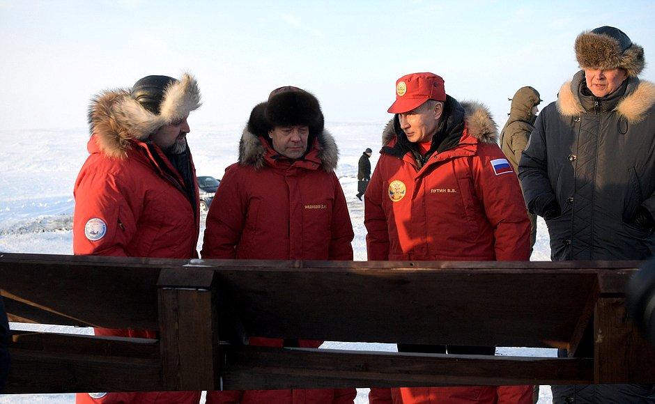 Putin durante una visita al Ártico. Foto: Presidencia de Rusia.