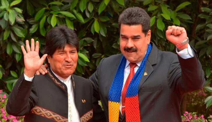 """Evo Morales: """"Luis Almagro está destrozando la OEA, por ser sumiso al imperio norteamericano""""."""