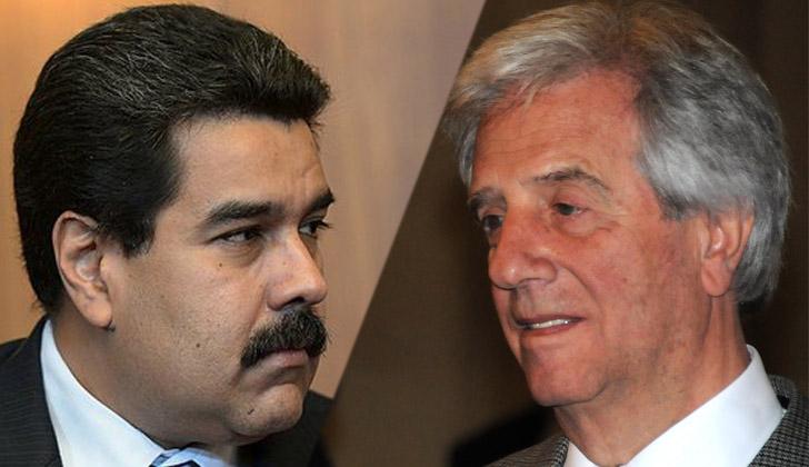 Tabaré Vázquez sobre la represión chavista: