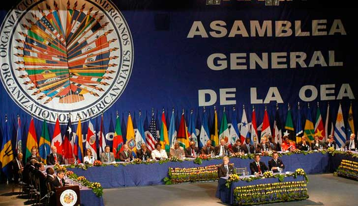 Resultado de imagen para BOLIVIA DENUNCIA GOLPEDEESTADO EN LA OEA