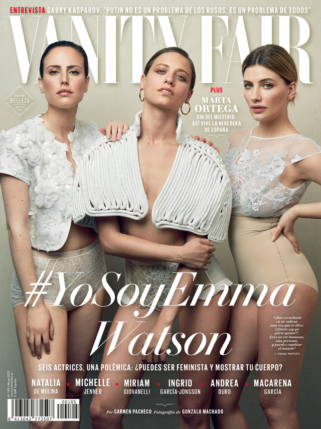 Portada mayo 2017 de 'Vanity Fair'  España.