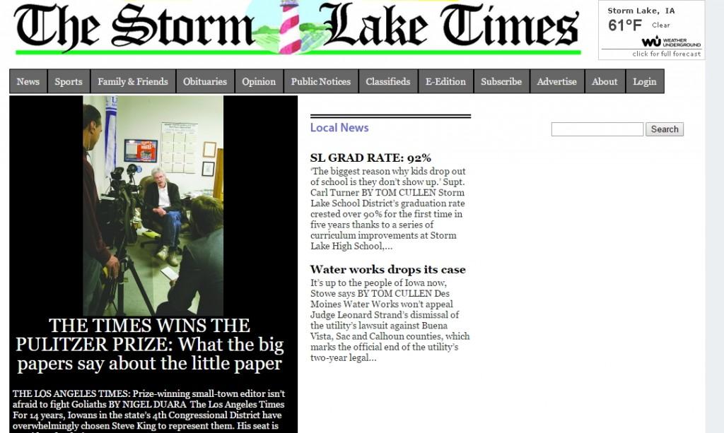 storm lake times