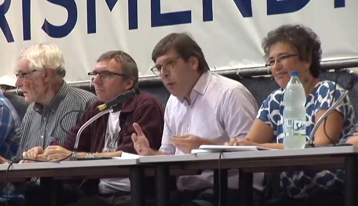 URUGUAY: Congreso del Frente Amplio aplaudió de pie a sindicalistas venezolanos