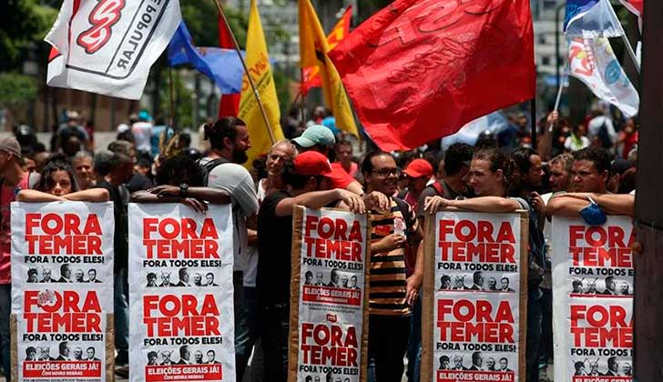 """Brasil: proponen """"Plan Popular de Emergencia"""" ante la crisis, y una nueva huelga general. Foto: archivo EFE"""
