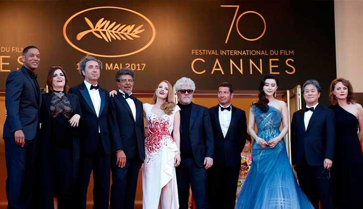 Las mujeres del jurado del Festival de Cannes pidieron más presencia femenina en la industria del cine.
