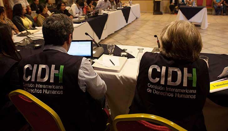 """CIDH: """"A pesar de la ausencia del Estado uruguayo, se cumplió con el objetivo de escuchar lo que ocurre en el país"""" . Foto: Gustavo Amador CIDH"""